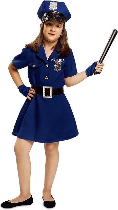 My Other Me - Disfraz de Policía para niña, Talla 3-4 años (Viving ...