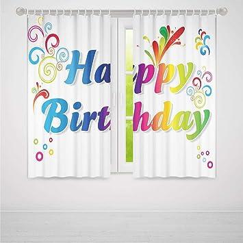 YOLIYANA Cortina para Puerta, decoración de cumpleaños, para ...