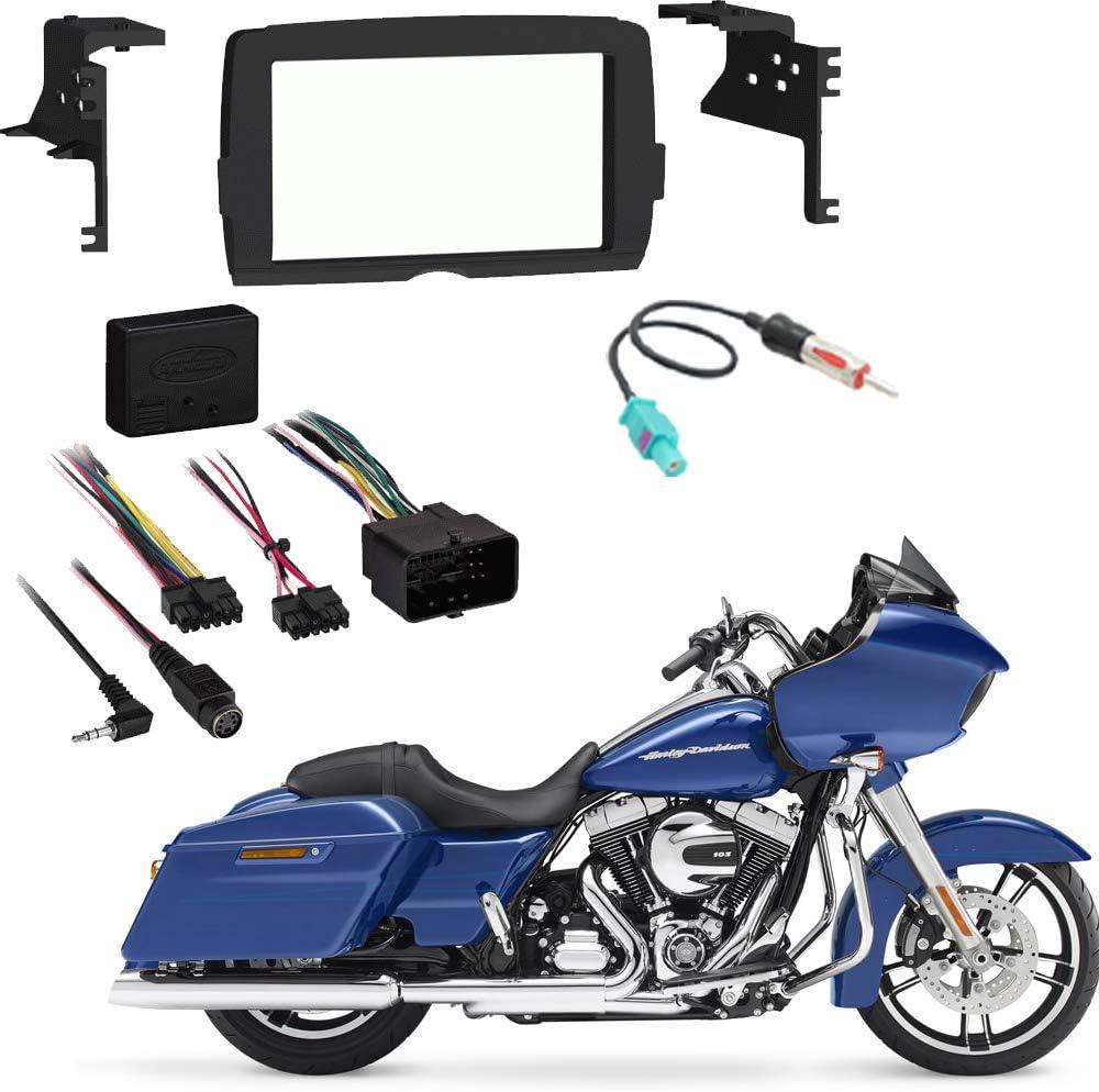 Metra 95-9700 2014-2019 Harley Davidson Motorcyle Double DIN Radio Stereo Kit