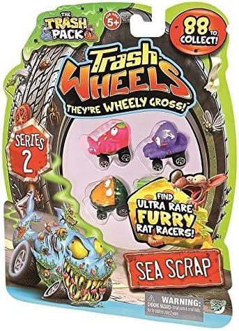 Trash Pack Series 2 Trash Wheels Sea Scrap Vechicles 4-pack by Trash Wheels: Amazon.es: Juguetes y juegos