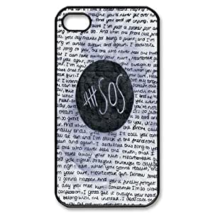 Retro Design The Music Band 5SOS for iPhone 4s Cover AKL219785