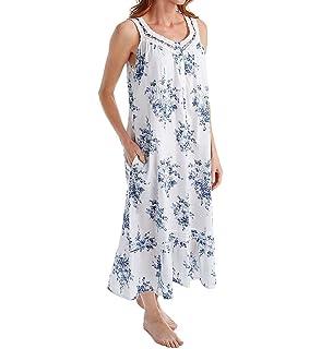 d93527ee9f La Cera Women s Sleeveless Plus Size Nightgown at Amazon Women s ...