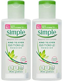 Simple Kind To Eyes Eye Makeup Remover, 4.2 Ounce (Pack of 2)