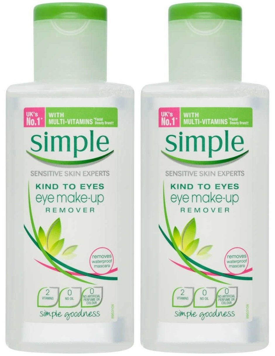 Simple Kind to Eyes Eye Makeup Remover, Eye Makeup Remover, 4.2 oz