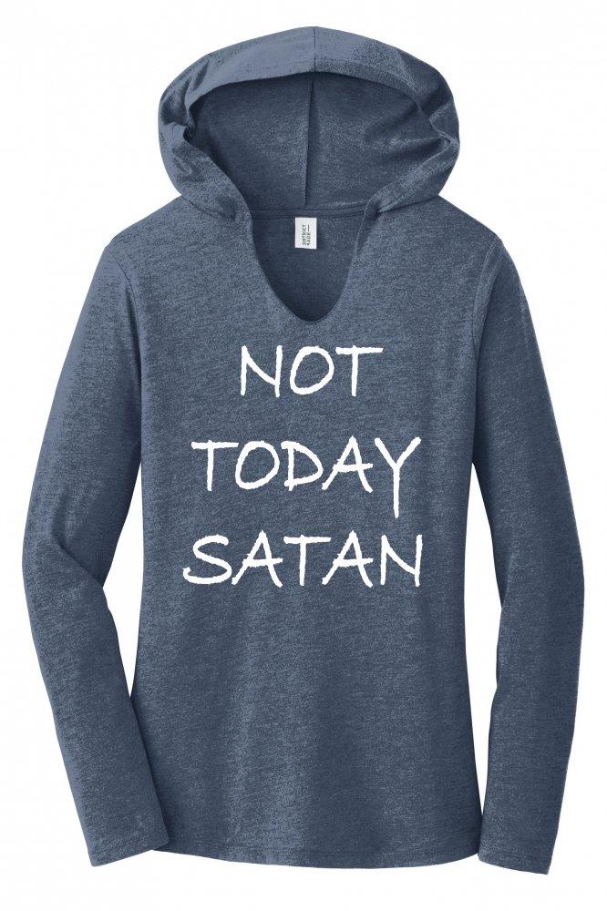 Not Today Satan Funny Religious T 4112