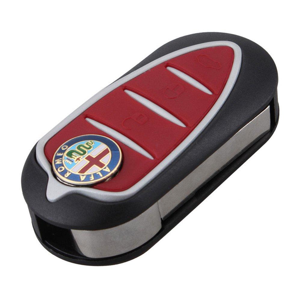 rojo Teclas goma llave Alfa Romeo Mito Giulietta goma mando