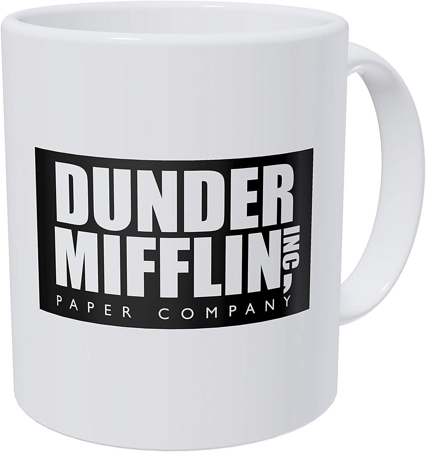 Willcallyou Dunder Mifflin The Office 11 Ounces Funny White Coffee Mug