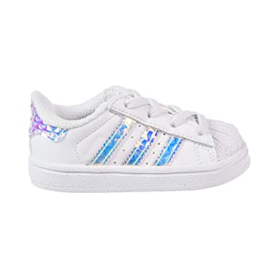 61e4add9506 ADIDAS Infant Superstar  Iridescent  CG3598 (6 ...