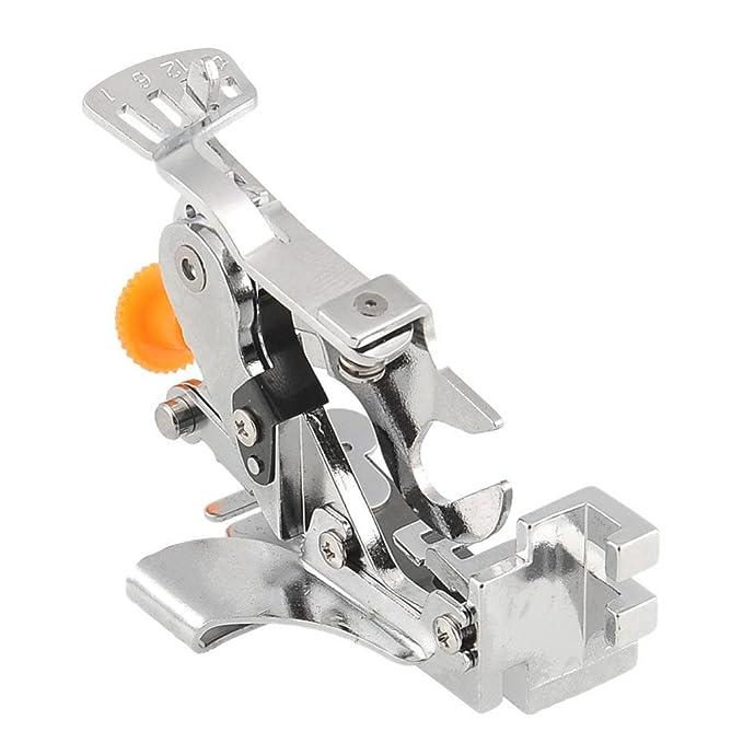 XuMarket (TM) para máquina de coser adaptación Ruffler pies prensatelas pies para Brother Singer Janom: Amazon.es: Hogar