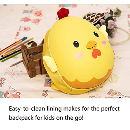 Amazon.com | Tengdo Insulated Toddler Backpack-Chicken Eggshell, EVE Kids Backpack, 12
