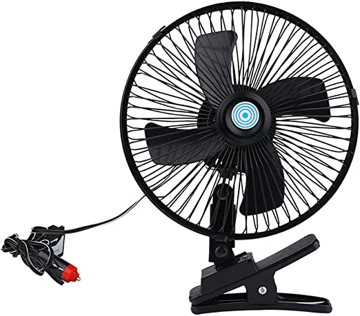 RR-YRC Car Mini Fan Portable Adjustable Wind Speed USB Air Circulator 360 Degree Free Rotation Low Noise /& Fast Wind Speed
