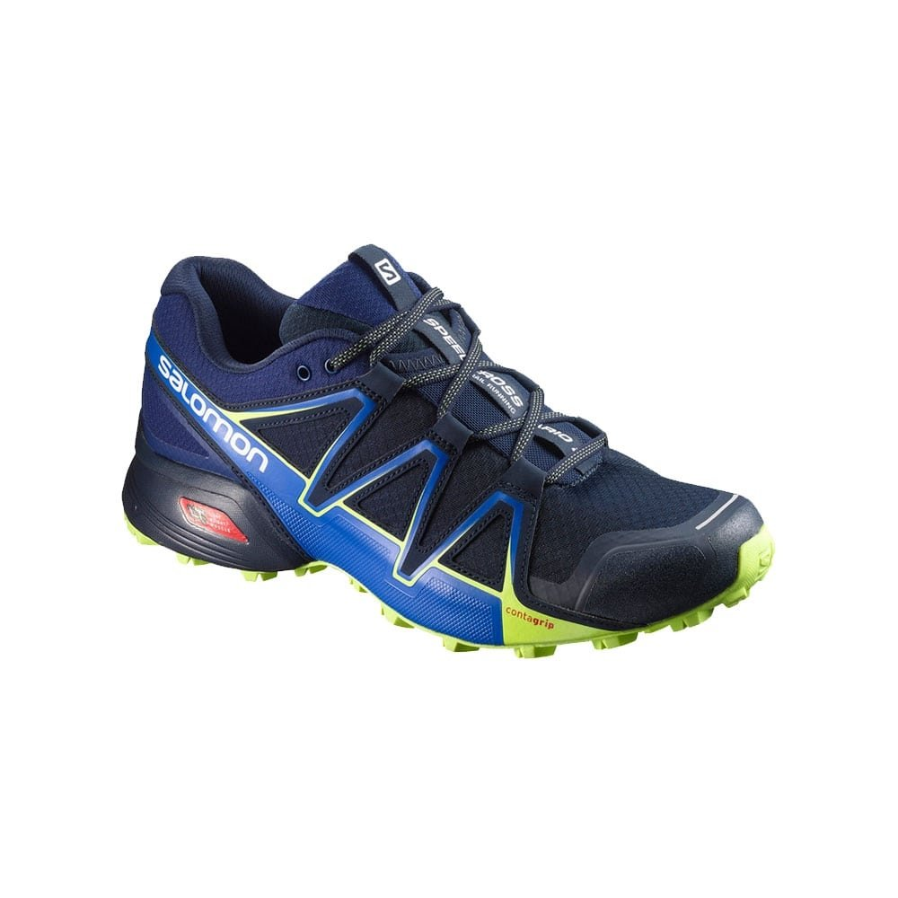Salomon SPEEDCROSS VARIO 2 MARINO NEGRO 394524: Amazon.es: Zapatos y complementos