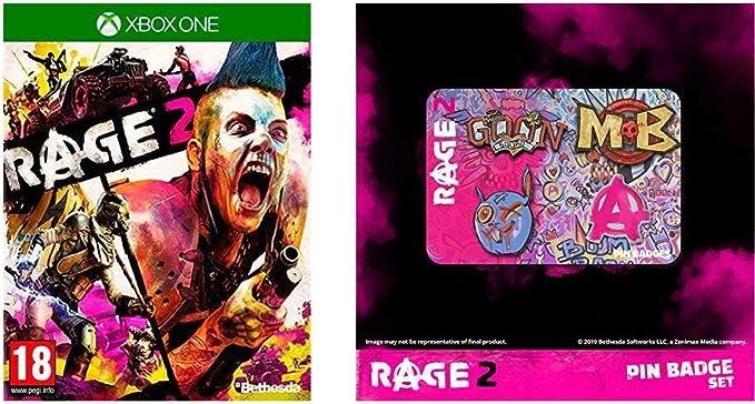 Rage 2 + Login pin badges for Xbox One: Amazon.es: Videojuegos