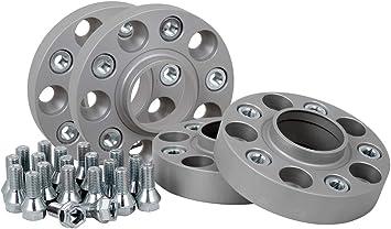 Spurverbreiterung Aluminium 4 Stück 20 25 Mm Pro Scheibe 40 50 Mm Pro Achse Inkl TÜv Teilegutachten Auto