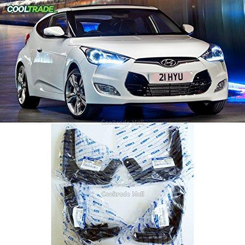 Hyundai Veloster Genuine Splash Guard Mud Flap Front & Rear OEM 4ea 2012 – 2015