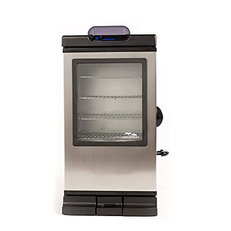 3. Masterbuilt 20072115 Bluetooth Smart Digital Electric Smoker, 30-Inch