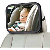 CharmCollection Baby Car Mirror Baby Car Seat Mirror DESIGNED FOR PARENTS Travelling with Young Children for Rear Facing…