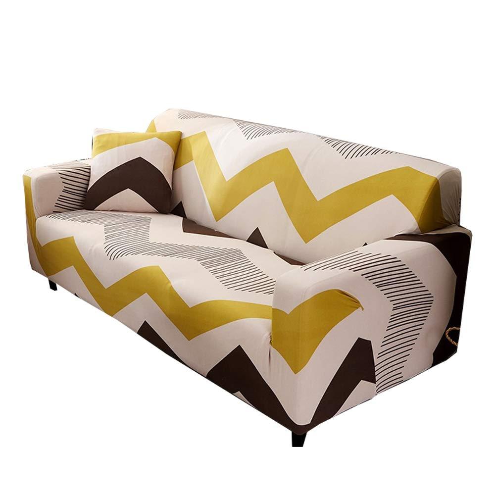 CHYOOO Funda De Sofa Sofá De Protección con Estampado Verde ...