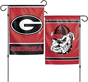 NCAA Georgia Bulldogs 12 x 18 inch 2-Sided Garden Flag