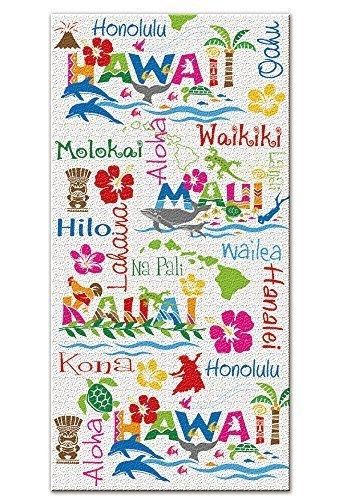 UPC 025598315404, Hawaiian Adventures Beach Towel