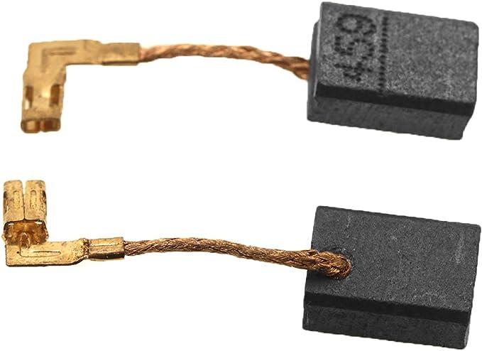 D2D 1 par de cepillos de carbono CB459 compatibles con Makita GA4530R GA4534 JS1000 GA5030 TM3000C PJ7000