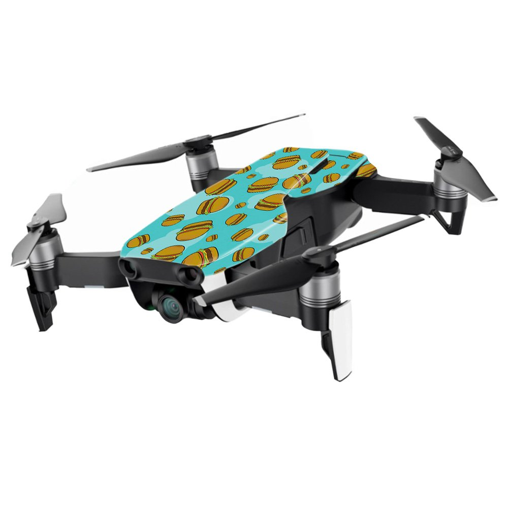 MightySkins スキンデカールラップ DJIステッカー保護カバー 100種類のカラーオプションに対応, DJI Mavic Pro Quadcopter Drone, DJMAVPRO-Raining Pizza B07B3Y17C9 DJI Min Coverage|Burger Heaven Burger Heaven DJI Min Coverage