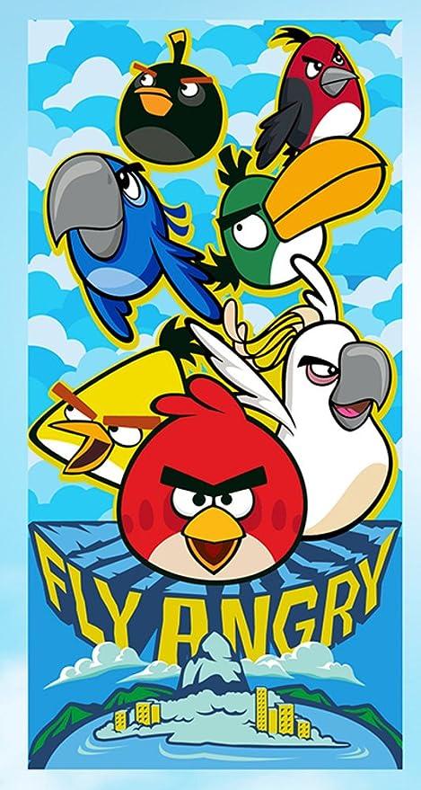 Angry Birds Toalla 70 x 140 cm Toalla de playa (u235)