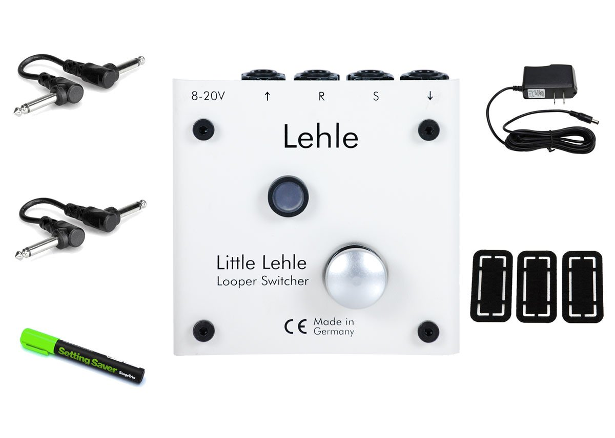 Lehle Little Lehle II Foot Switch PRYMAXE PEDAL BUNDLE