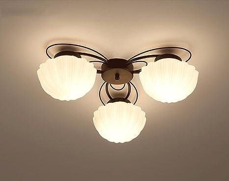 Jazs lampade da soffitto stile americano lampade da letto