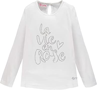 Brums T-Shirt Jersey con Strass Camiseta de Tirantes para Ni/ñas