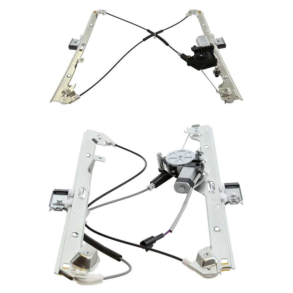 Prime Choice Auto Parts WR841647PR Front Window Regulator Pair