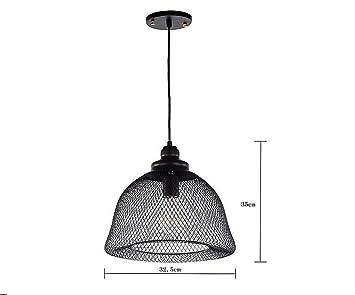 Reti Da Letto Metalliche : Bjvb camera da letto lampada del caffè netta luci del pendente