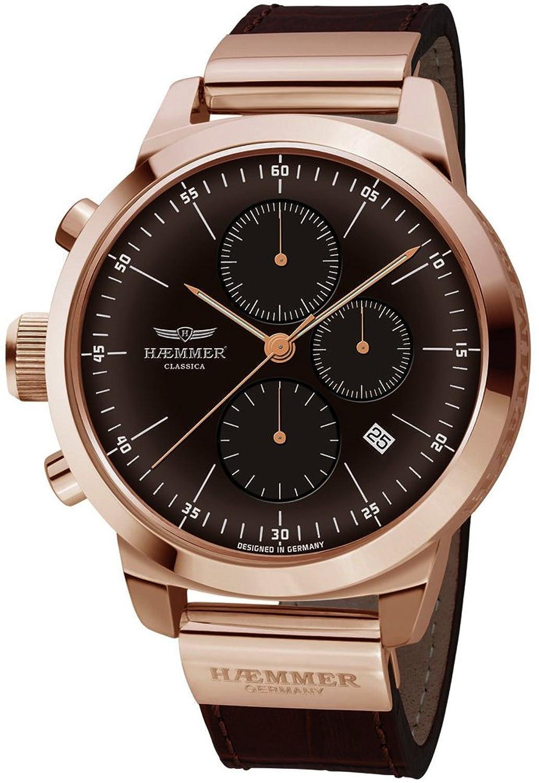 ヘンマー 腕時計 ドイツブランド クロノグラフ 日本製ムーブメント 50mm 限定999個生産 10ATM Classica HK-04 [並行輸入品] B01M4K85X5