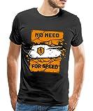 Spreadshirt World of Tanks Blitz No Need for Speed Männer T-Shirt