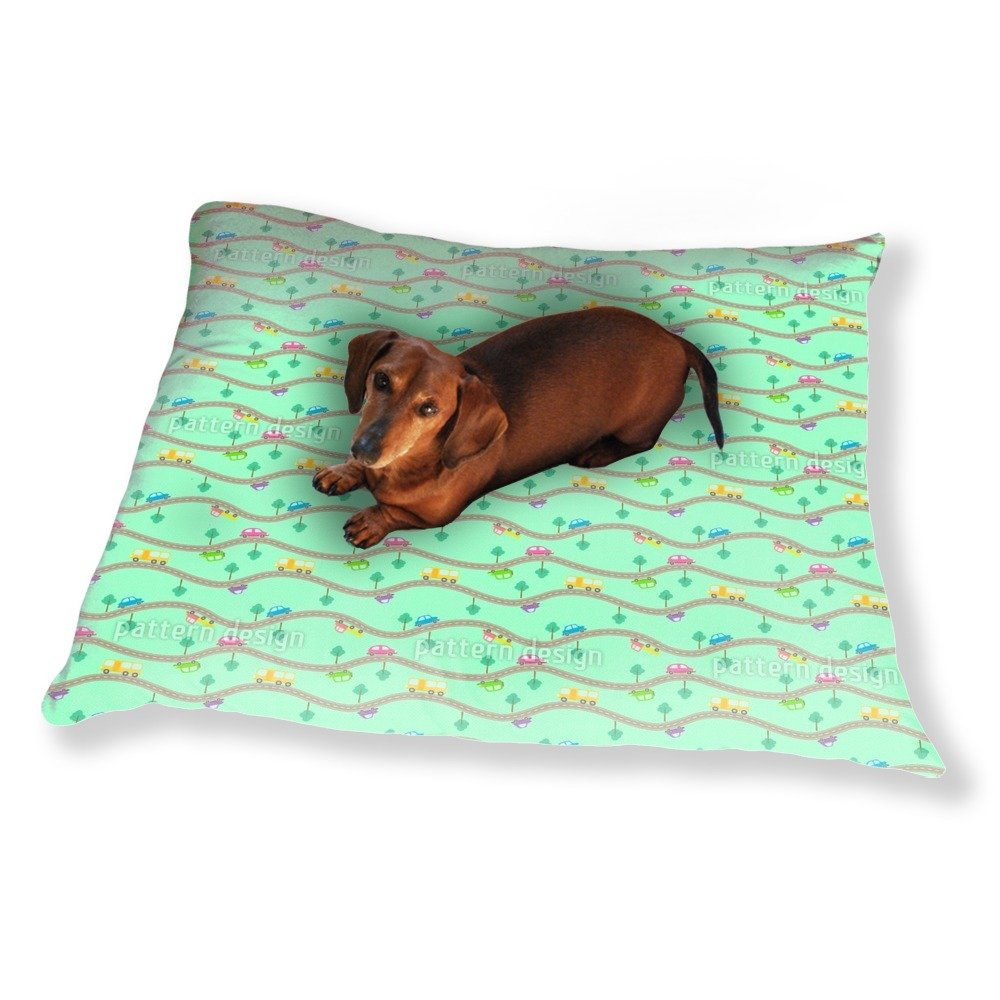 Roads and Cars Dog Pillow Luxury Dog / Cat Pet Bed