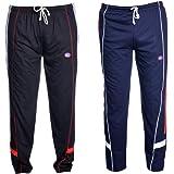 Vimal Men's Cotton Track Pants - Pack of 2