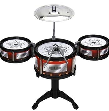 Black Temptation Conjunto de batería para niños Instrumentos Musicales de percusión Instrumentos educativos Juguetes para bebés: Amazon.es: Juguetes y ...