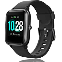 GBAuto High-End Fitness Trackers,Health Sports Smart Watch with Heart Rate & Sleep Monitor,Calorie Step Counter,1.3…