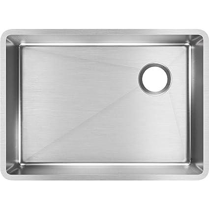 Elkay Crosstown ECTRU24179RT Single Bowl Undermount Stainless Steel Kitchen  Sink