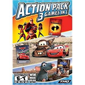 Disney Pixar Collection: 3 Games in 1 (Incredibles / Cars / Ratatouille)