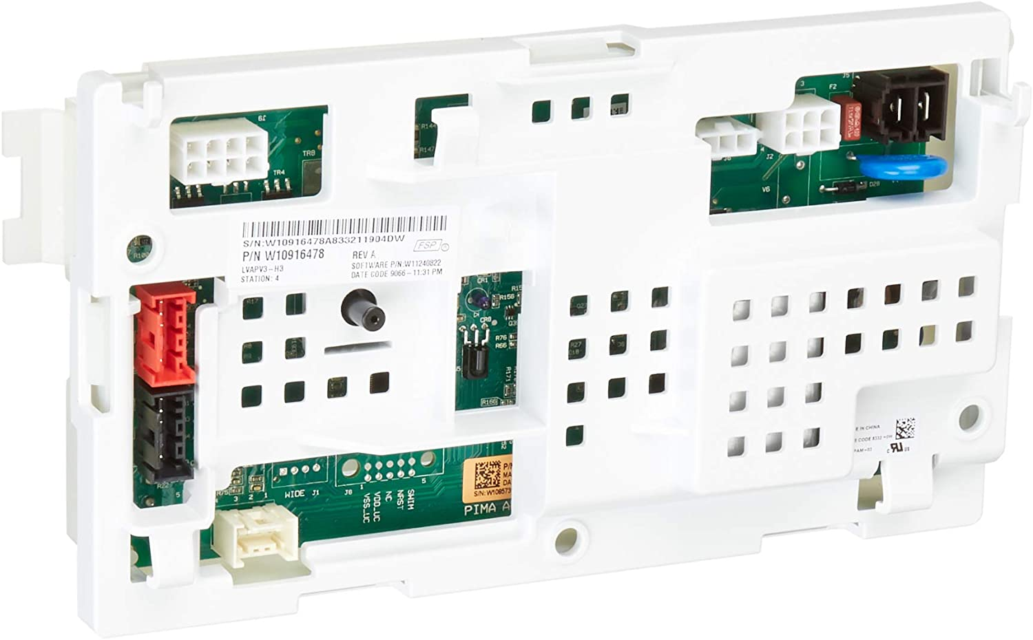 Whirlpool W11116590 Washer Electronic Control Board Original Equipment (OEM) Part, White