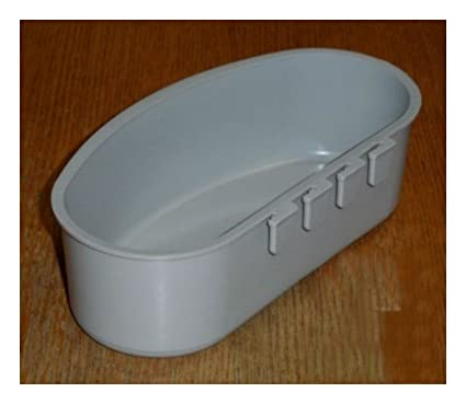 Amazon com : 12 pcs Gray Quart Hanging Water Feed Cage Cups