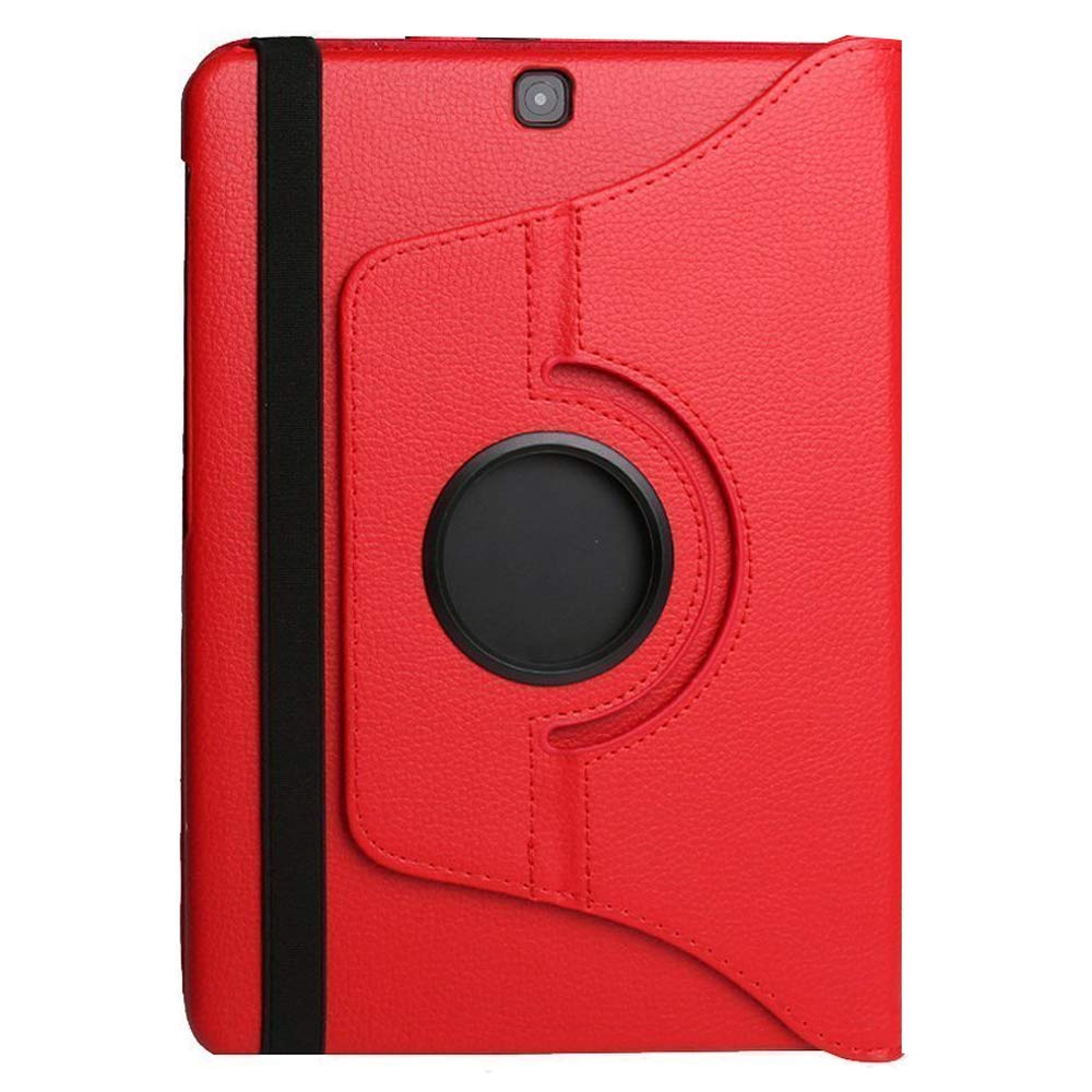 Jennyfly Protective Cover for 2019 Galaxy Tab S6 10.5(T865),Easy Viewing Duralble PU Leather 360 Degree Rotating Multiple Viewing Angles for Samsung 2019 Galaxy Tab S6 10.5(SM-T860/T865/T867) - Red by Jennyfly
