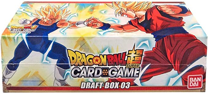 Amazon Com Dragon Ball Super Draft 03 Booster Box Trading Card Game 24 Packs New Leaders Toys Games