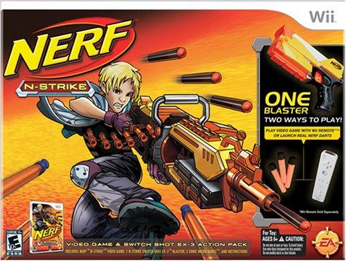 Nerf-N-Strike Bundle - Nintendo (Nerf N-strike Bundle Wii)