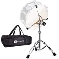 Vangoa Snare Drum Stand with 420D Oxford Cloth Carrying Bag, Lightweight Double Braced Tripod