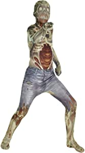 Morphsuits Kids Zombie Monster Costume - Small 3'-3'5 / 6-8 Years