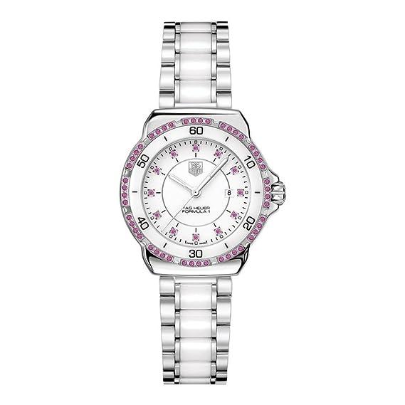 TAG Heuer THWAH1319BA0868 - Reloj de pulsera Mujer, acero inoxidable, color Plata