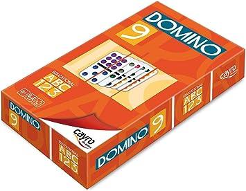 Cayro - Dominó colores doble 9 - Juego tradicional - juego de mesa - Desarrollo de habilidades cognitivas y lógico matemáticas - Juego de mesa (247): Amazon.es: Juguetes y juegos