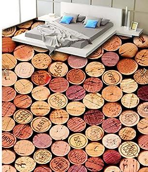 Wongxl Piso En 3D De La Botella Retro Bar Cafe Estudio Azulejos Decorados En Carteles Adhesivos Impermeables 350cmX300cm: Amazon.es: Bricolaje y ...